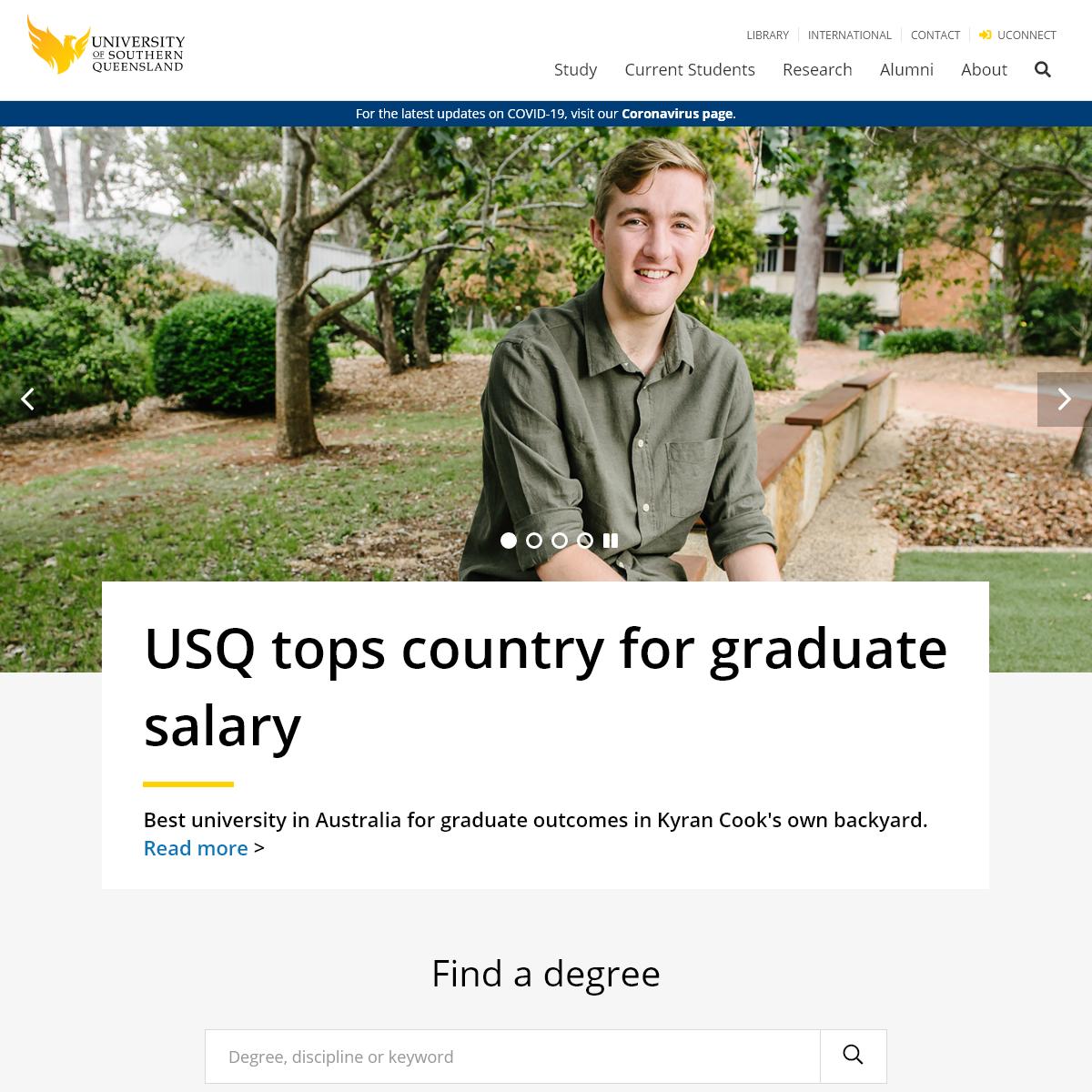 University of Southern Queensland - University of Southern Queensland