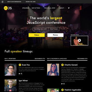 dotJS 2019 - The world`s largest JavaScript conference
