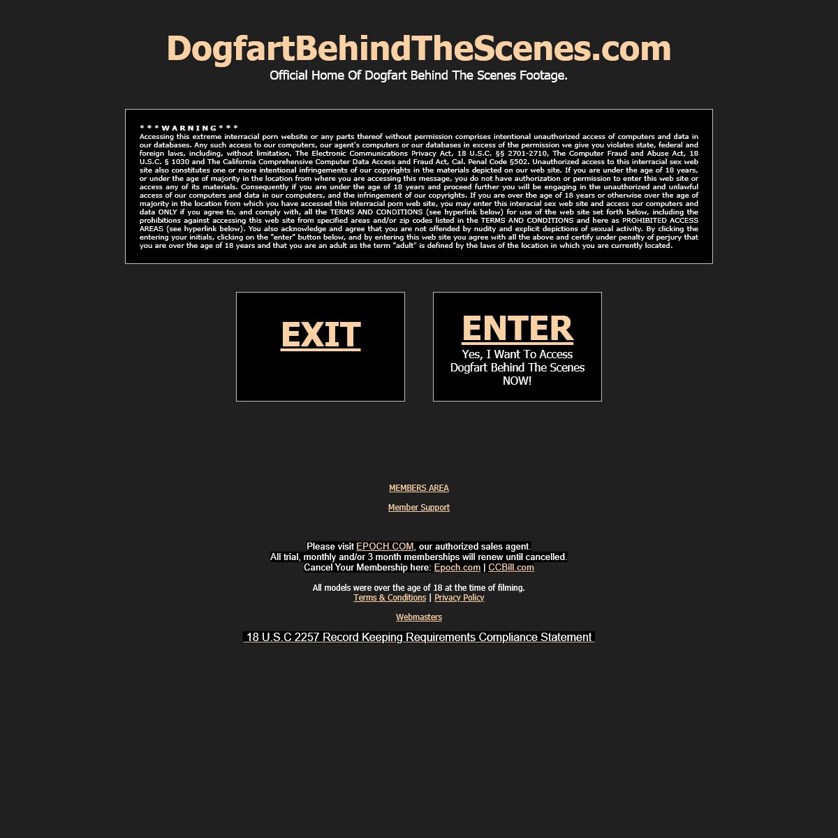 A complete backup of www.dogfartbehindthescenes.com
