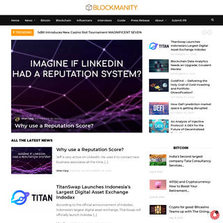 Blockmanity - Latest Cryptocurrency & Blockchain Industry News