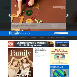 Little Rock Family - Central Arkansas Parents Magazine for Childrens Events, Activities and Schools - Little Rock Family Magazin