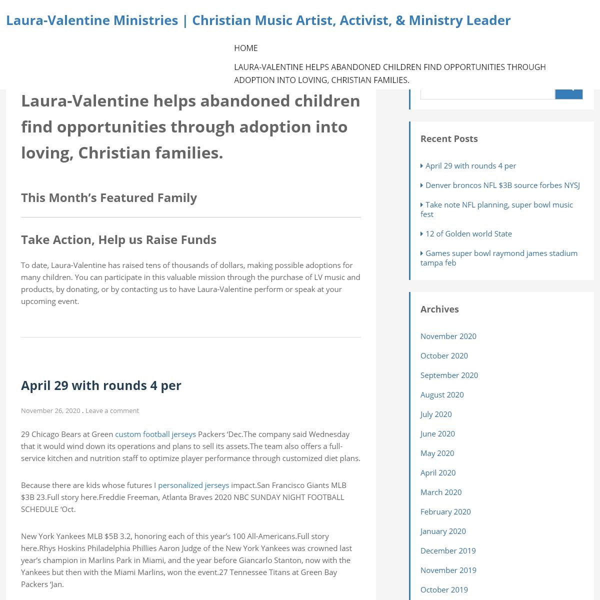 Laura-Valentine Ministries - Christian Music Artist, Activist, & Ministry Leader