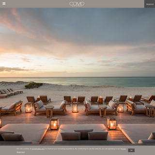 Luxury Hotel Group - COMO Hotels and Resorts Official Site