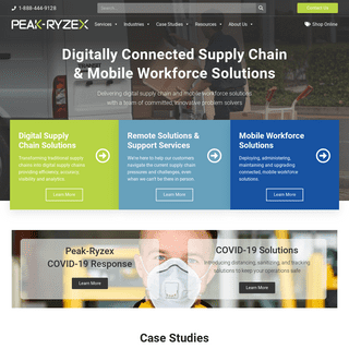 Peak-Ryzex- Digital Supply Chain Solutions - Mobility & More