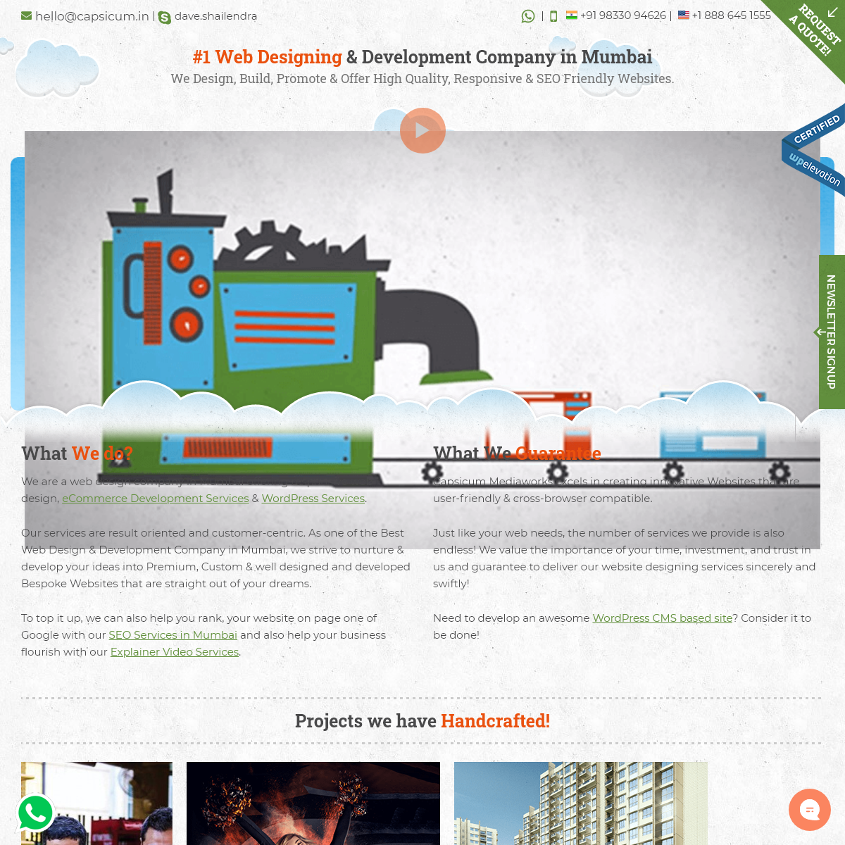 Web Designing & Website Development Company in Mumbai