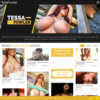 Tessa Fowler - Official Site of Pinup Model Tessa Fowler