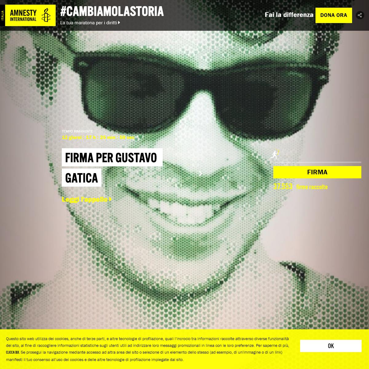 #Cambiamolastoria - Amnesty International Italia