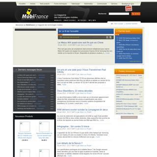 Mobifrance.com - Le Magazine de toutes les technologies mobiles