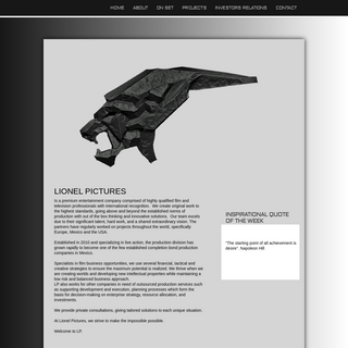 A complete backup of lionelpictures.com