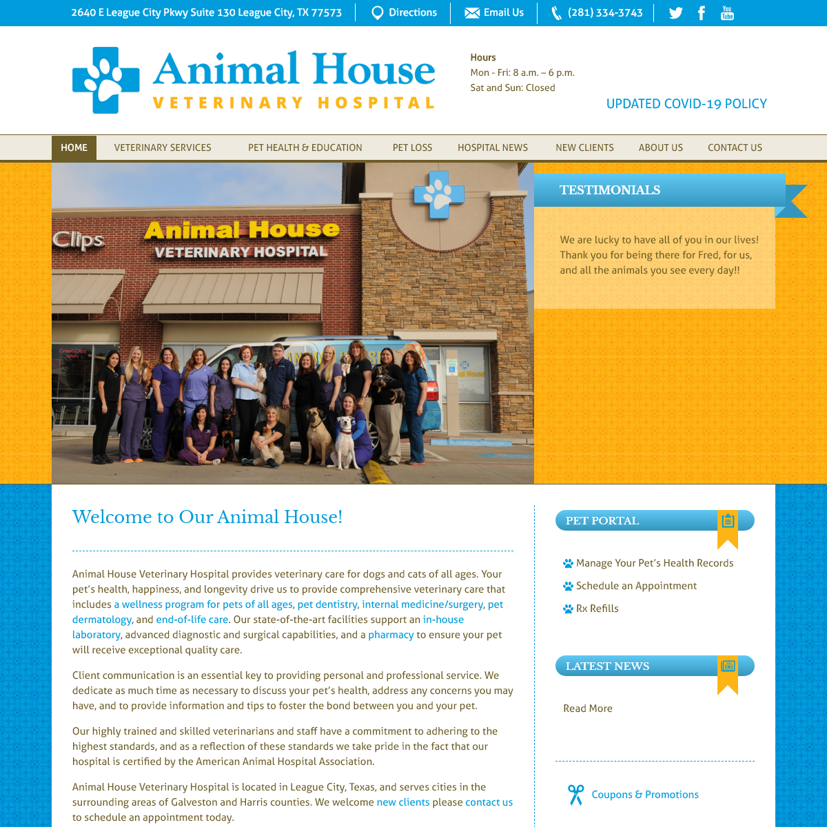 Animal House Veterinary Hospital - Animal House Veterinary Hospital