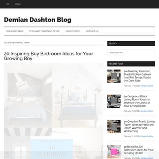 Demian Dashton Blog
