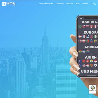 Internet im Ausland - USA SIM und mehr - SimlyStore.com