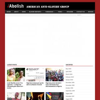 American Anti-Slavery Group – American Anti-Slavery Group