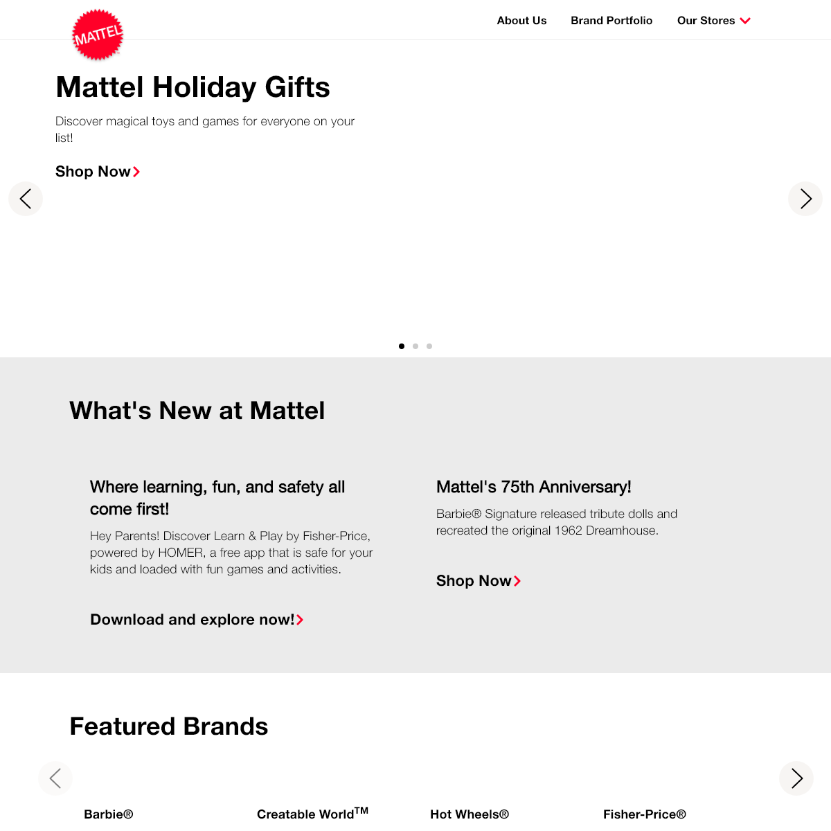 Mattel, Inc. - The Official Home of Mattel Toys and Brands