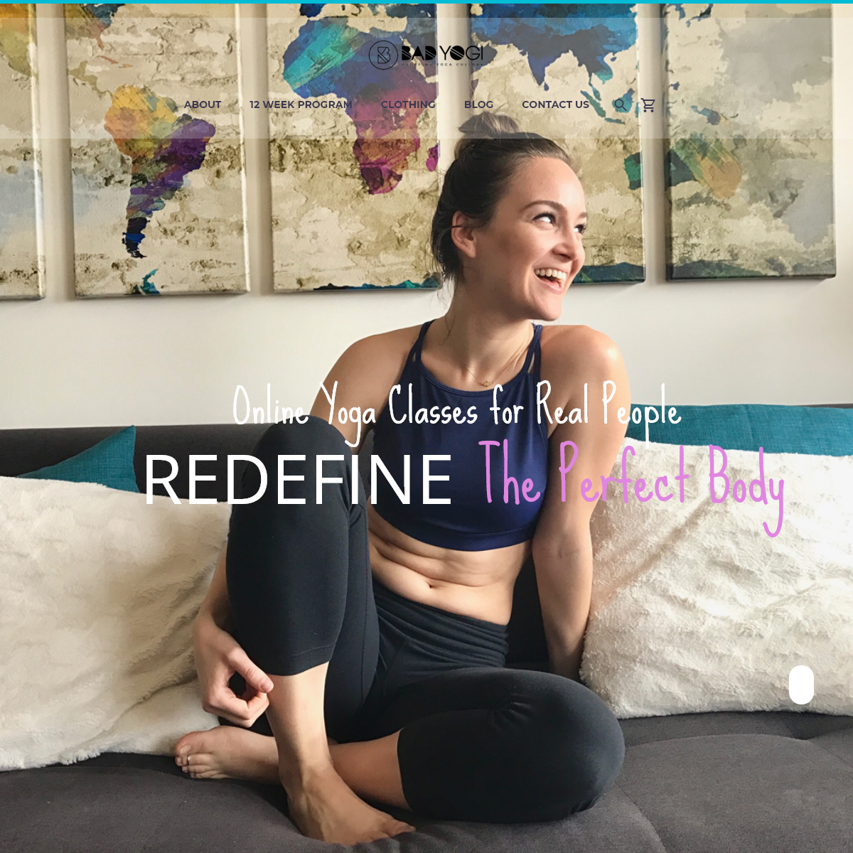 Bad Yogi – Online Yoga Classes for Real People