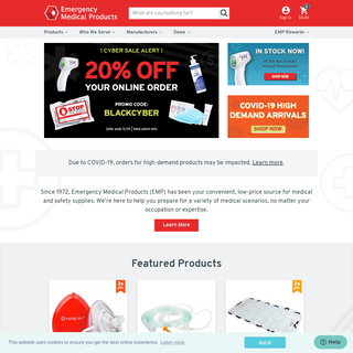 Emergency Medical Products Inc. - Emergency Medical Supplies