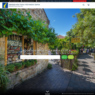 Adelaide Hills - Accommodation and Visitor Information