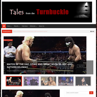Tales from the Turnbuckle – Blood, Sweat, and Piledrivers!