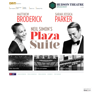Hudson Theatre Broadway