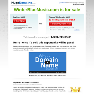 HugeDomains.com - WinterBlueMusic.com is for sale (Winter Blue Music)