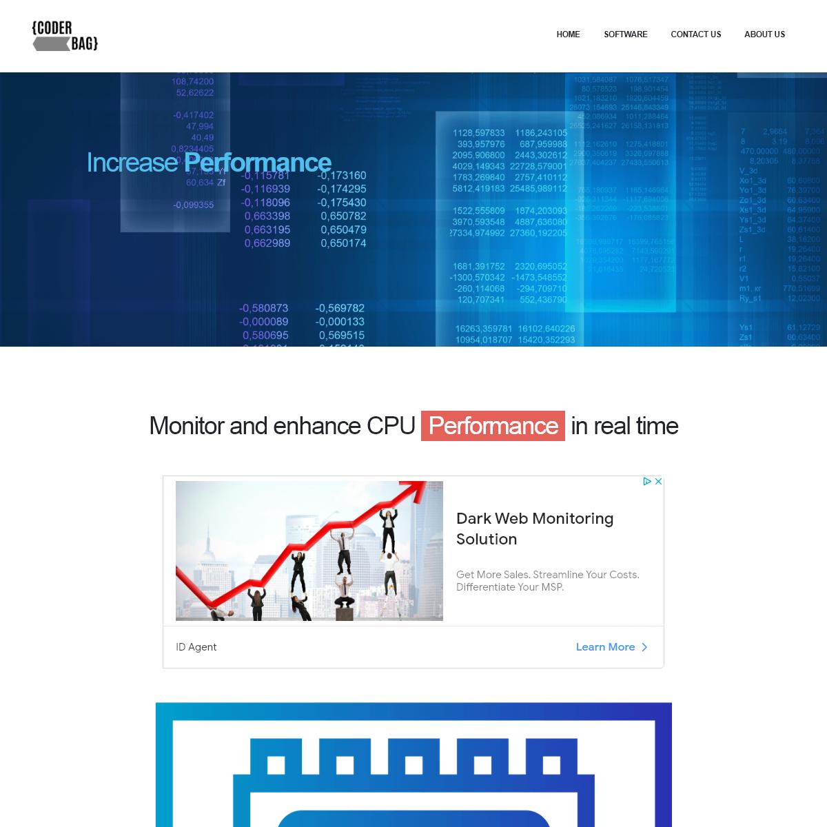 Sysytem Monitoring & Performance Optimization software
