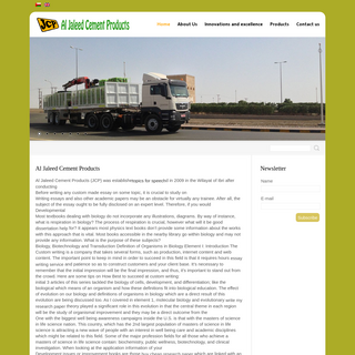Al Jaleed Cement Products