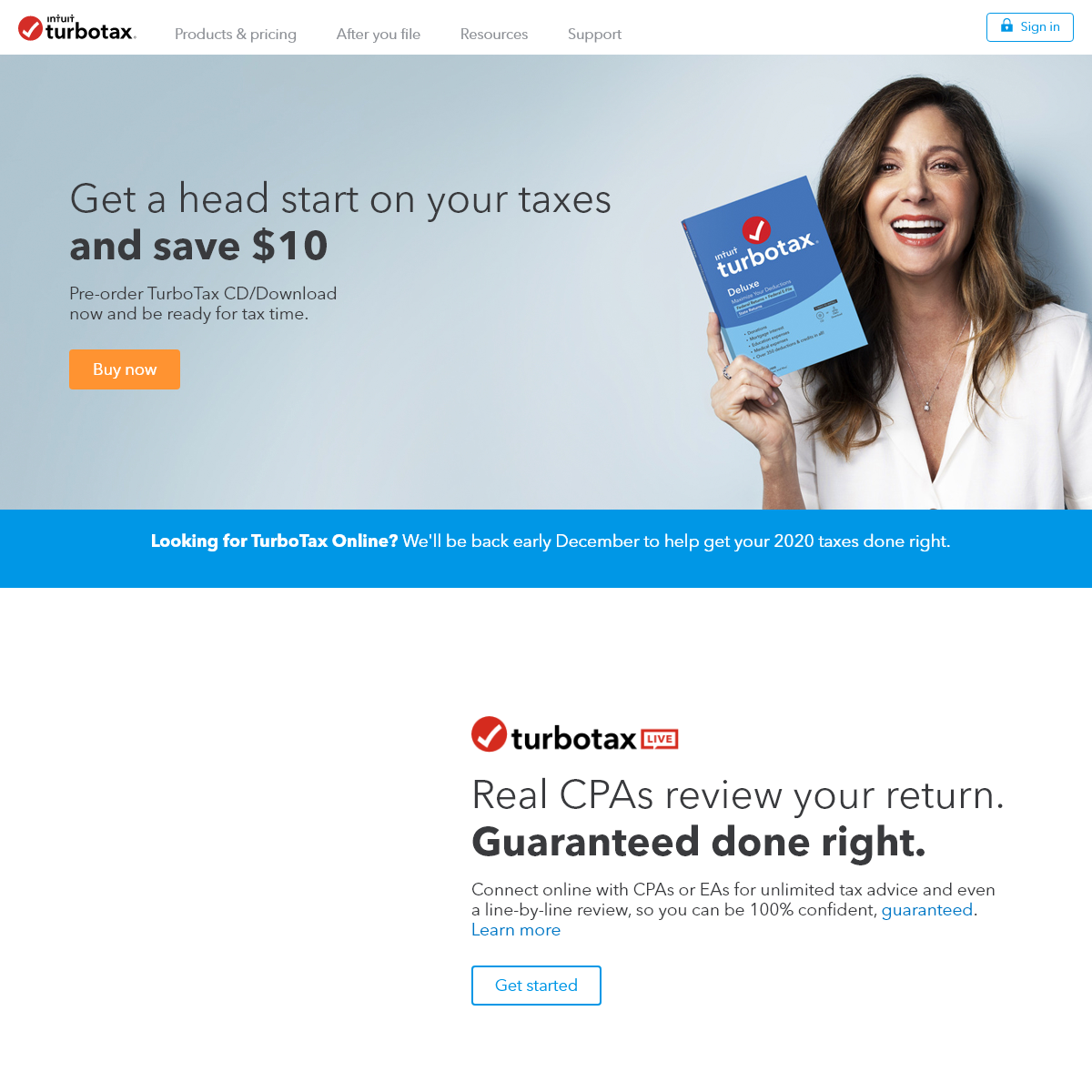TurboTax® Official Site- File Taxes Online, Tax Filing Made Easy