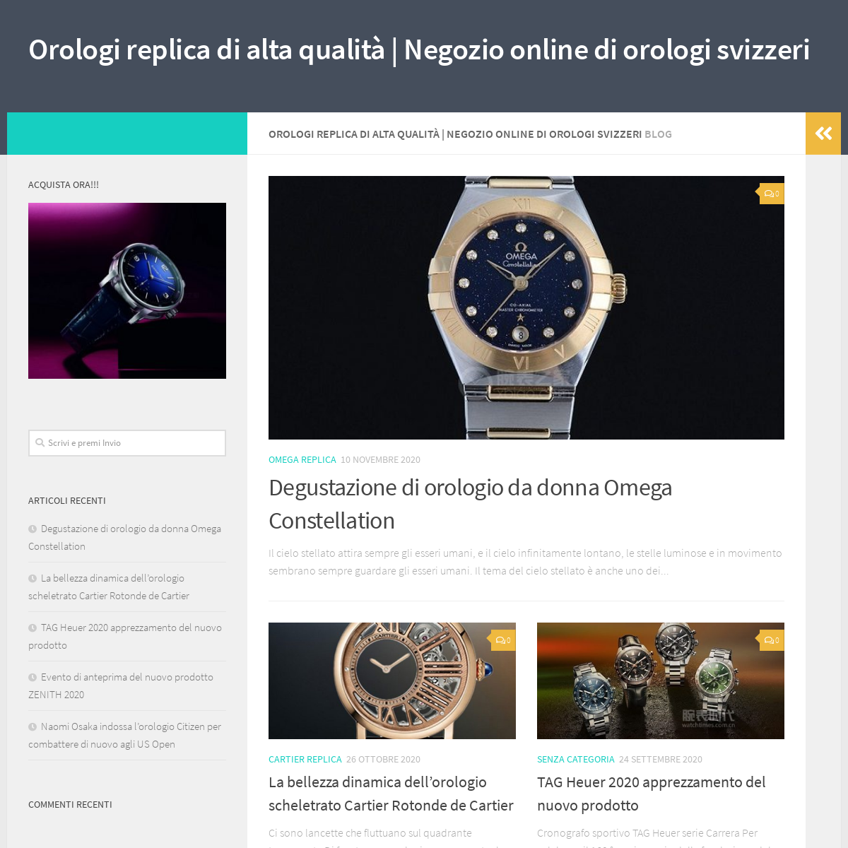 Orologi replica di alta qualità - Negozio online di orologi svizzeri