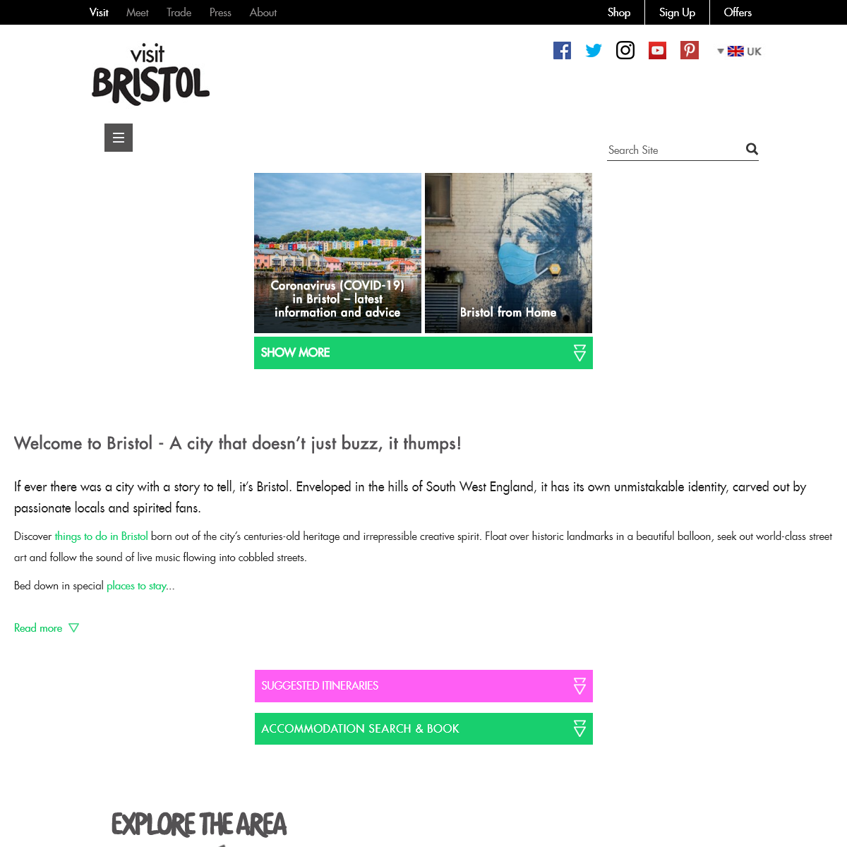 Visit Bristol - Official Bristol Tourist Information Site