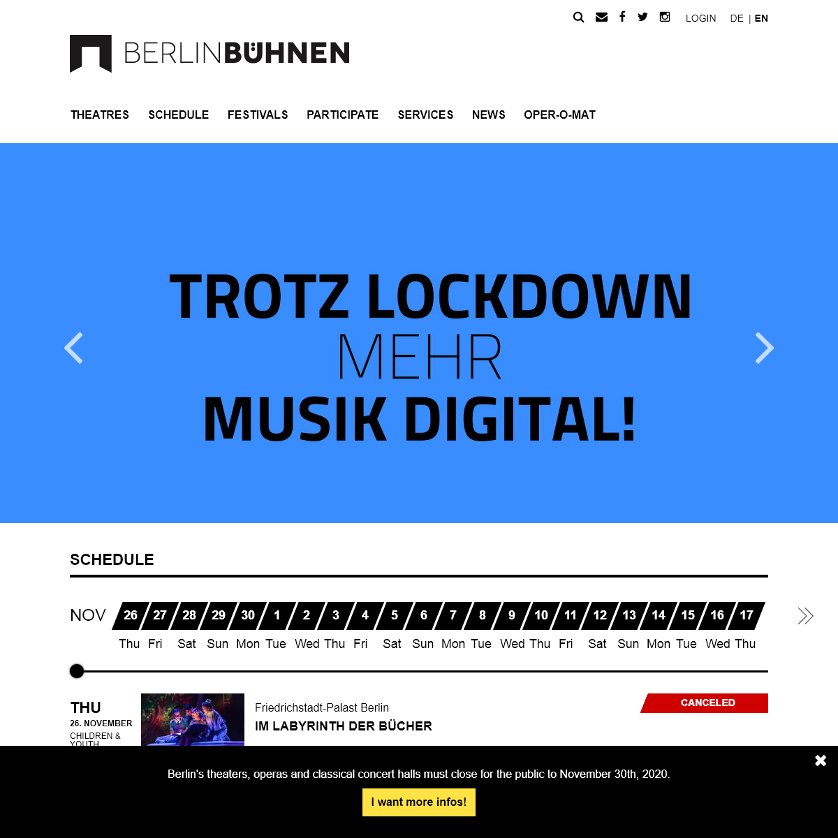 Berlin Bühnen