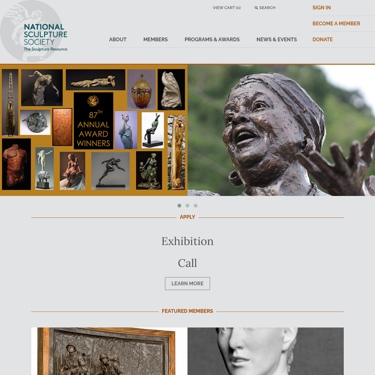 National Sculpture Society - The Sculpture Resource