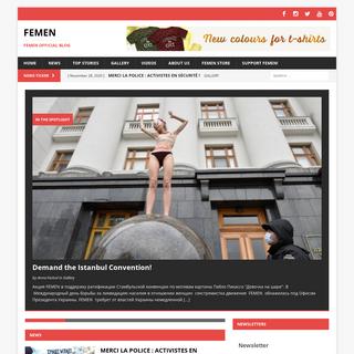 FEMEN – FEMEN Official Blog