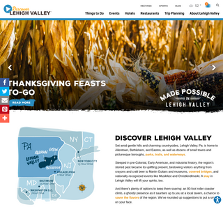 Lehigh Valley Hotels, Events, Things to Do & Vacation Planning