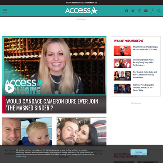 Access- Entertainment News, Celebrity, TV, Music & Movie Videos - Access