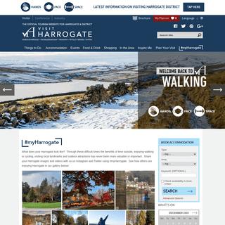 Visit Harrogate - Visitor Information for Harrogate & its surrounding district