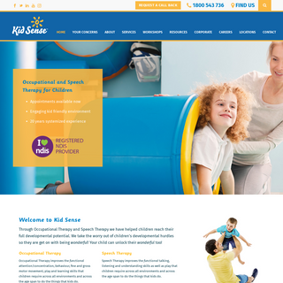Kid Sense Child Development - Adelaide Occupational Therapy and Speech Pathology - Speech Therapy