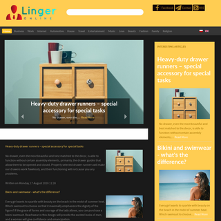 Linger-online.net - Lifestyle portal