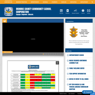 Monroe County Community School Corporation - Homepage