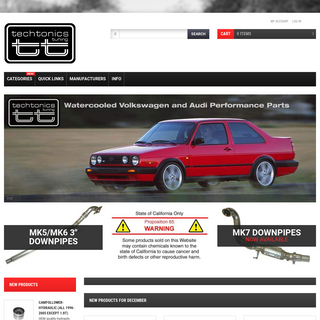 Techtonics Tuning, VW and Audi Performance Tuning and Repair Parts