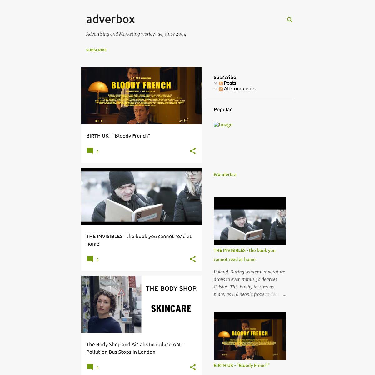 adverbox