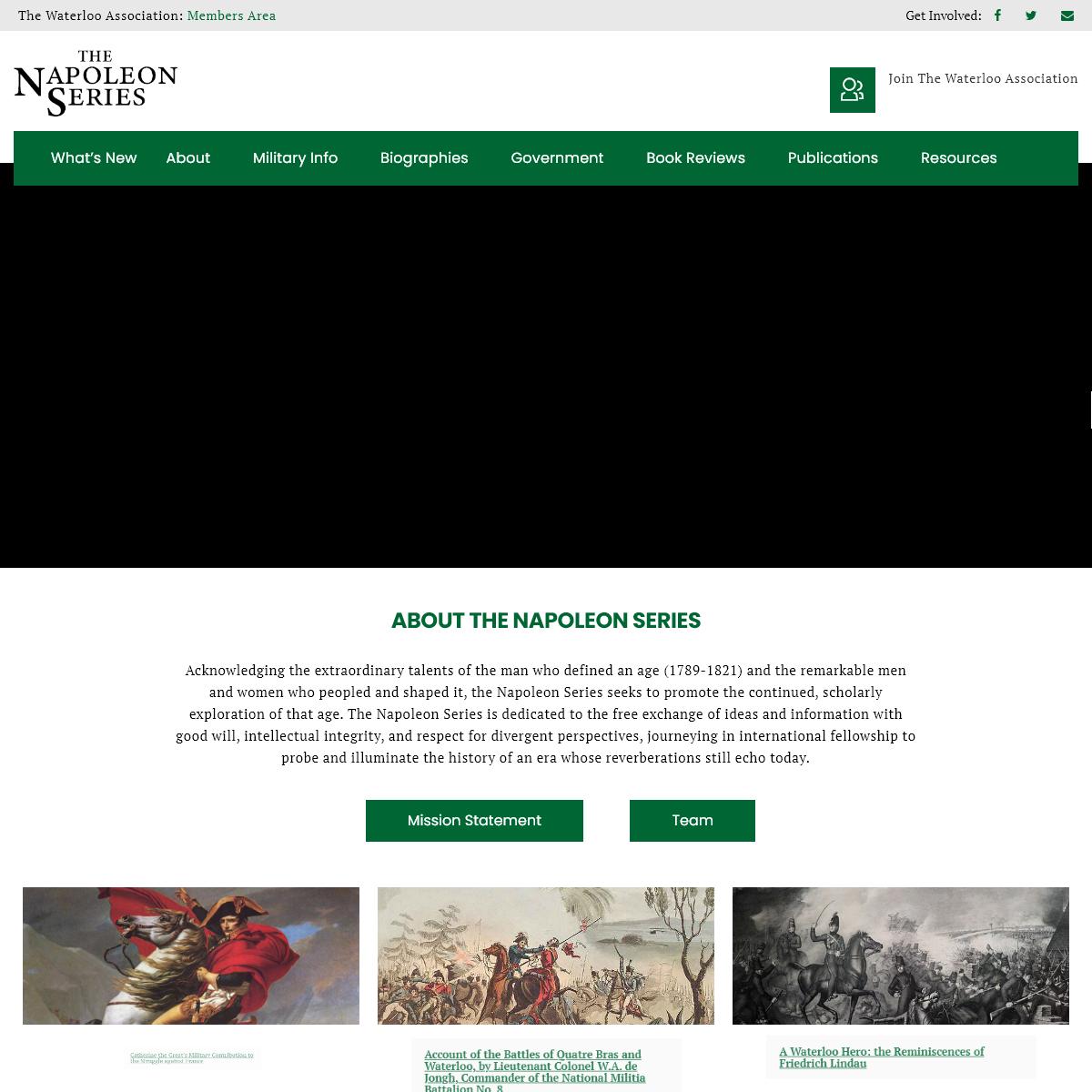 Home - The Napoleon Series