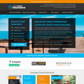 Cheap Travel Insurance & Holiday Insurance - Direct Travel