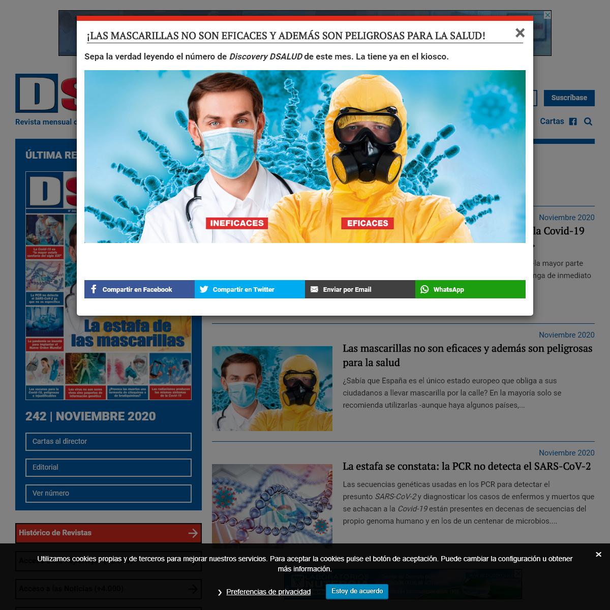 Revista de salud y medicina — Discovery DSalud