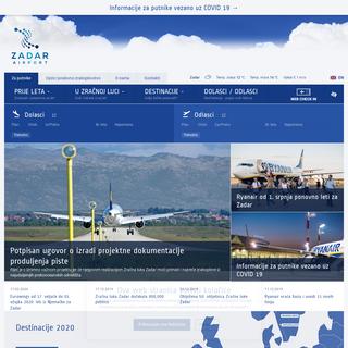Zračna luka Zadar - Zadar Airport