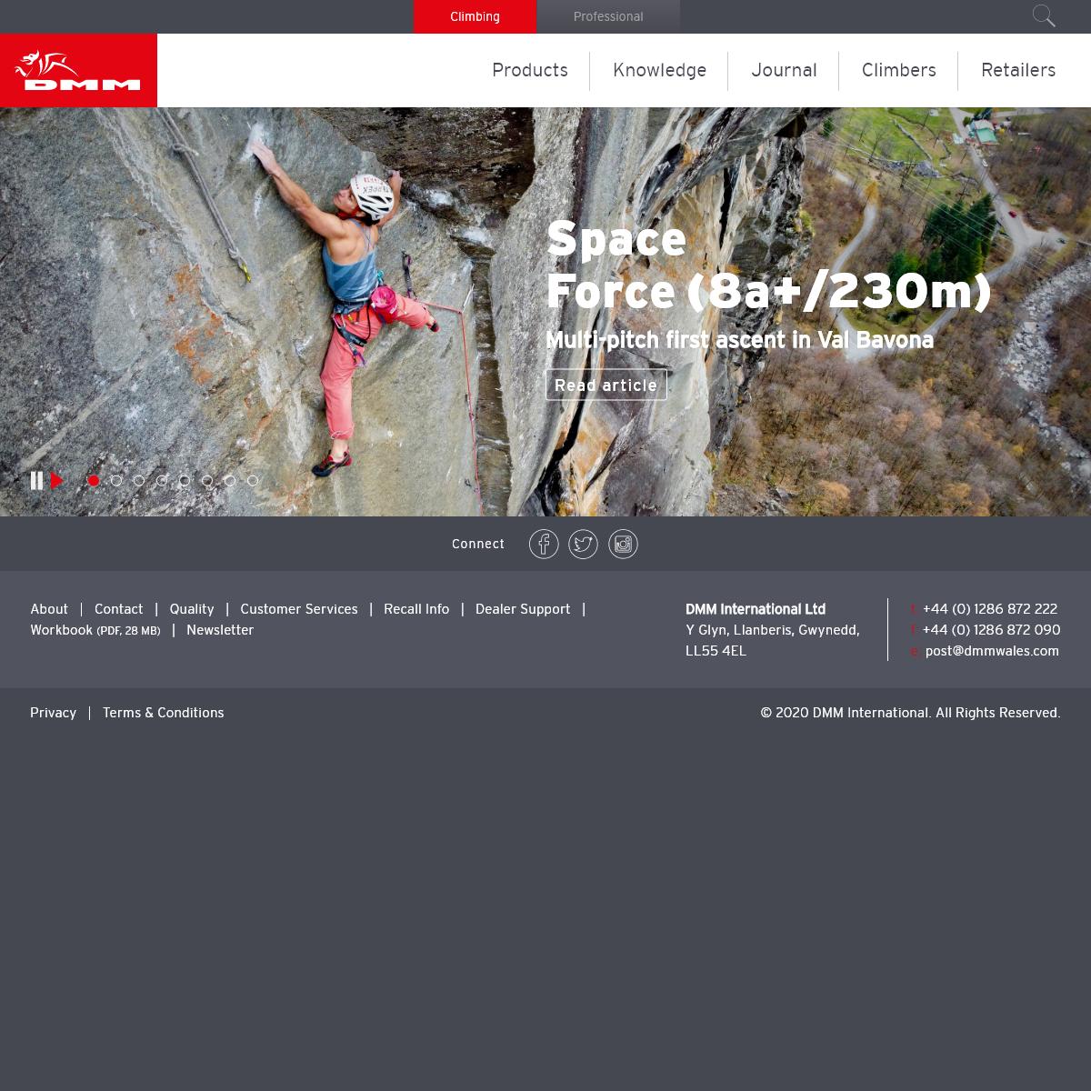 DMM Climbing - Home