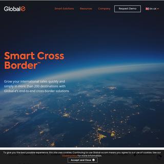 Homepage - Global-e