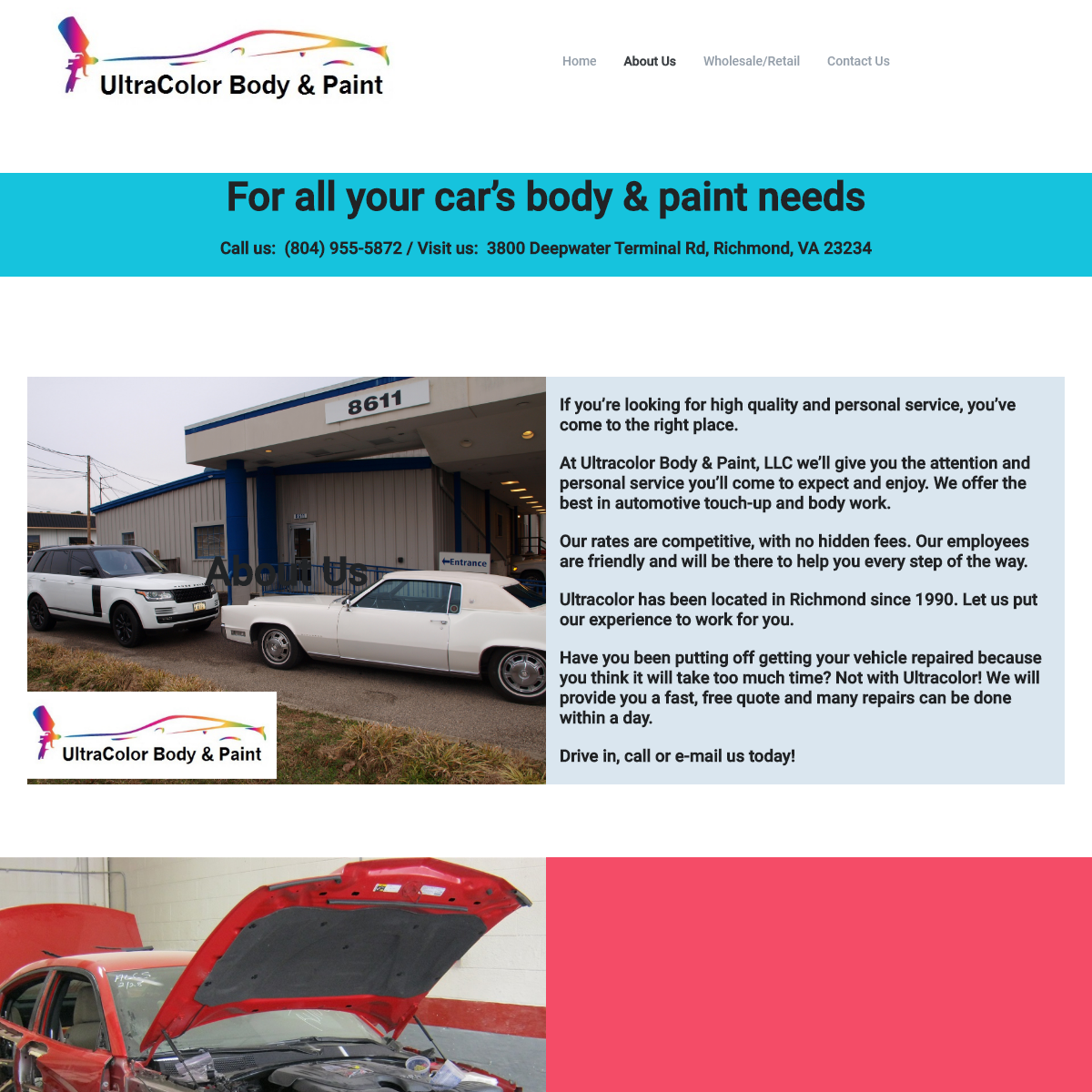 UltraColor Body & Paint – Automotive Body Shop and Painting