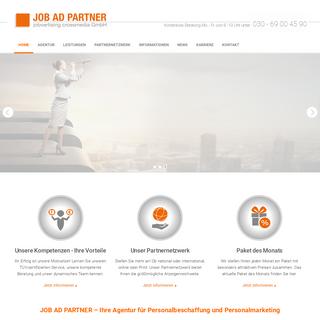 JOB AD PARTNER - Agentur für Personalbeschaffung und Personalmarketing