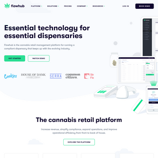 Cannabis POS, Inventory & Compliance Software - Flowhub