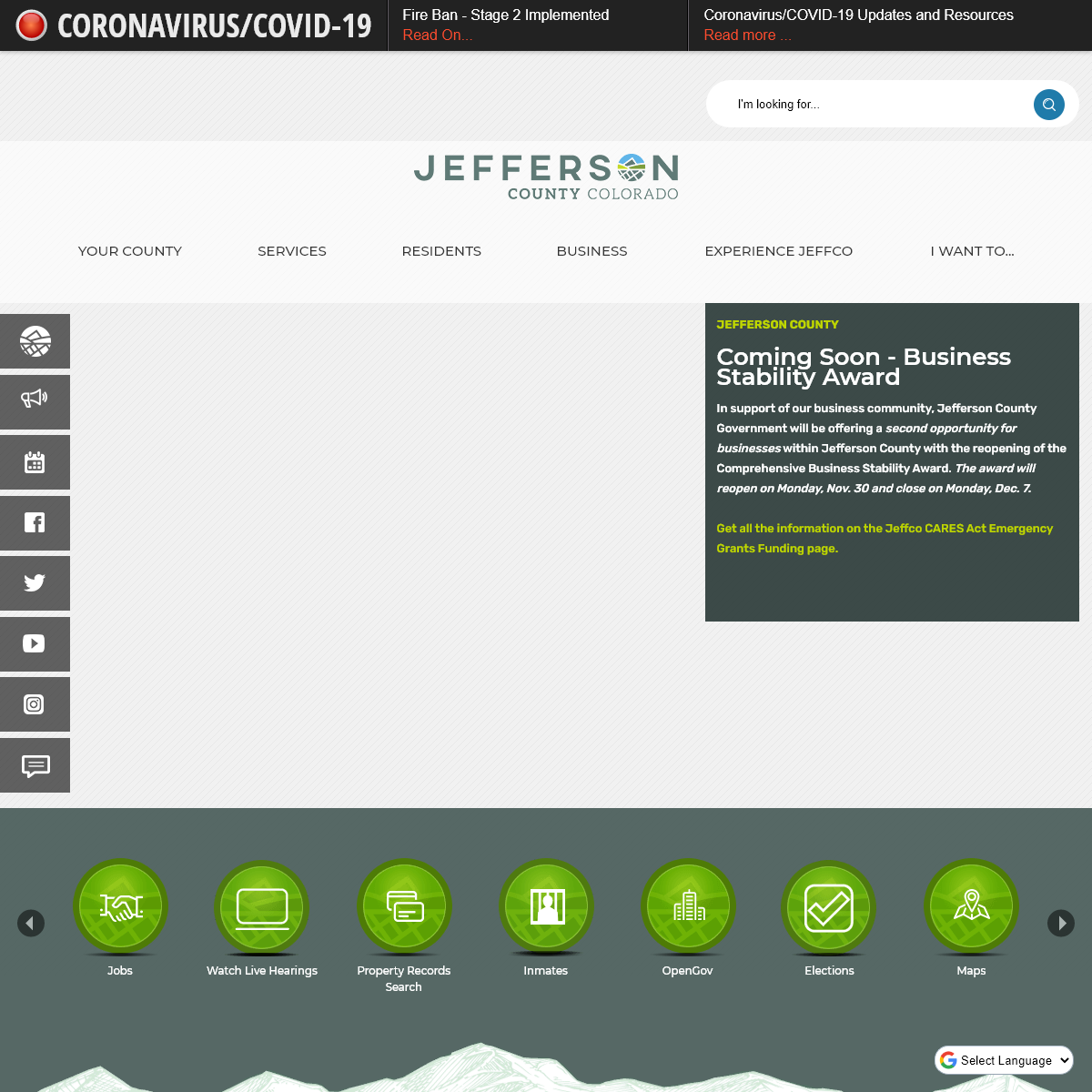Jefferson County, CO - Official Website